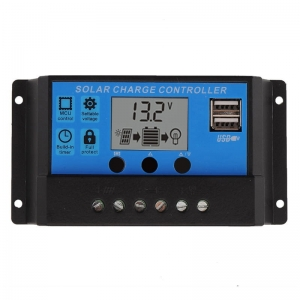 Regulator kontroler solarny 20A 12V/24V LCD USB