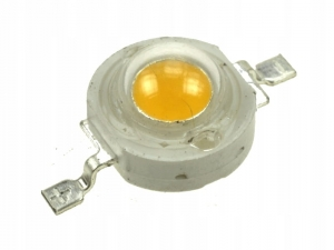 DIODA POWER LED COB 1W Żółta YELLOW 590nm